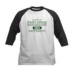 Education University Kids Baseball Jersey
