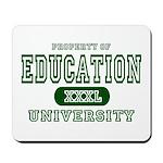 Education University Mousepad