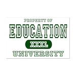 Education University Mini Poster Print