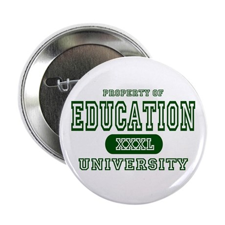 Education University Button