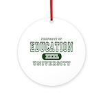 Education University Ornament (Round)