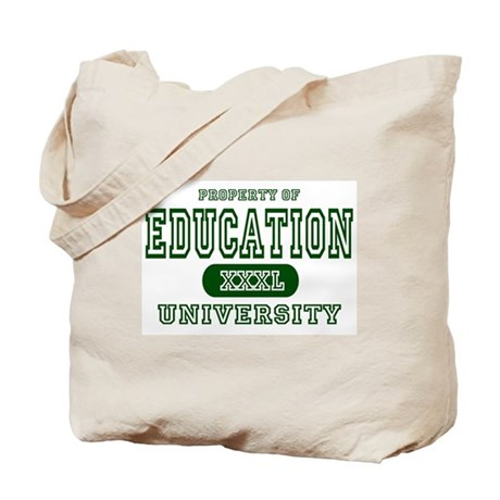 Education University Tote Bag