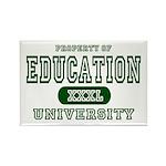 Education University Rectangle Magnet