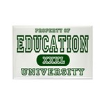 Education University Rectangle Magnet (10 pack)