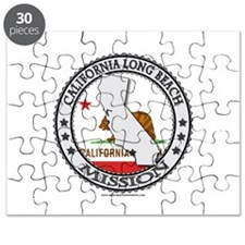 California Long Beach LDS Mission State Flag Puzzl