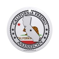California Fresno LDS Mission State Flag Cutout Or