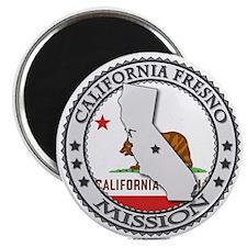 California Fresno LDS Mission State Flag Cutout Ma