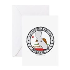 California Fresno LDS Mission State Flag Cutout Gr