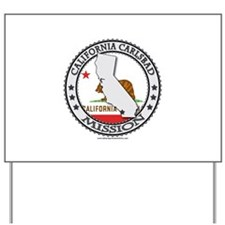 California Carlsbad LDS Mission State Flag Cutout
