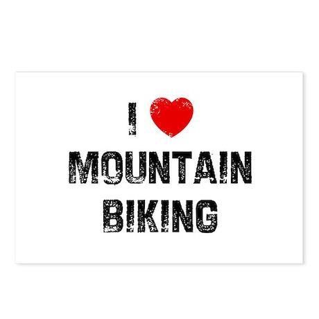 I * Mountain Biking Postcards (Package of 8)
