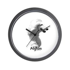 Afghan Charcoal Wall Clock