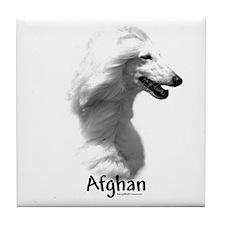 Afghan Charcoal Tile Coaster