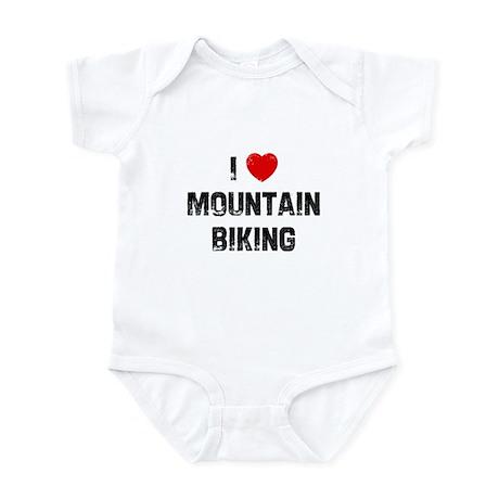 I * Mountain Biking Infant Bodysuit