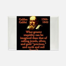 What Greater Stupidity - Galileo Magnets