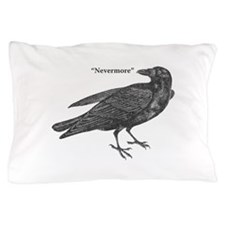 Nevermore Raven Pillow Case