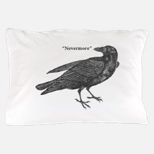 Nevermore Raven Pillow Case