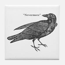Nevermore Raven Tile Coaster