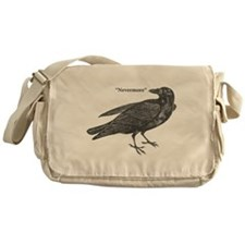 Nevermore Raven Messenger Bag