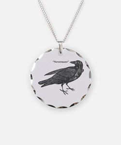 Nevermore Raven Necklace