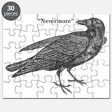 Nevermore Raven Puzzle