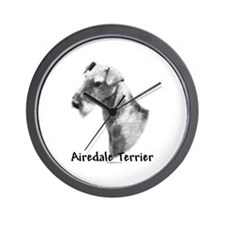 Airedale Charcoal Wall Clock