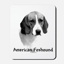 Foxhound Charcoal Mousepad