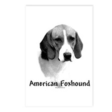 Foxhound Charcoal Postcards (Package of 8)