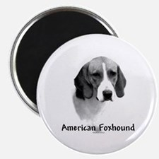 Foxhound Charcoal Magnet