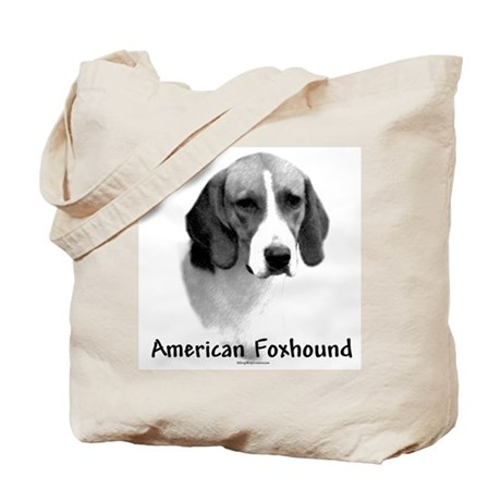 Foxhound Charcoal Tote Bag