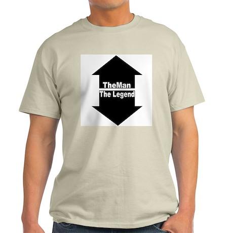 The Man, The Legend Ash Grey T-Shirt