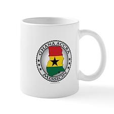 Ghana Accra LDS Mission Flag Cutout Map Mug