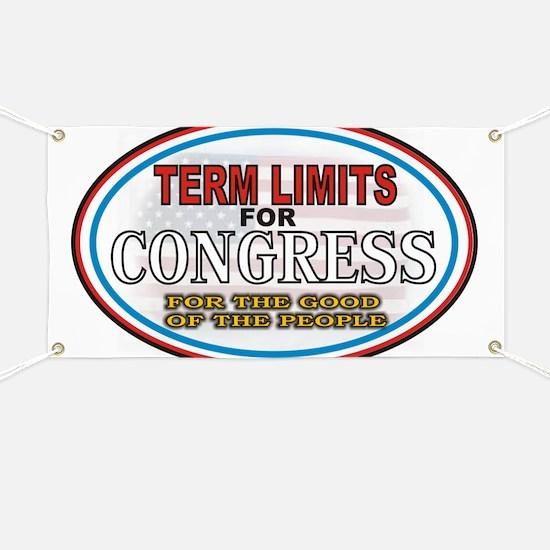 Term Limits Banner