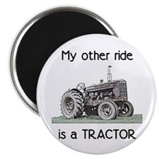 """Ride a Tractor 2.25"""" Magnet (10 pack)"""