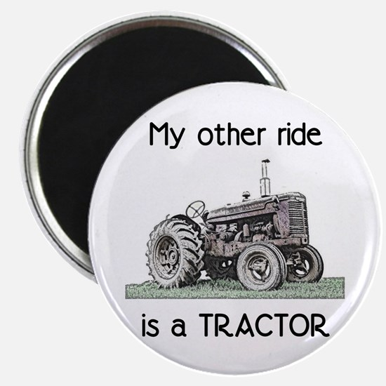 "Ride a Tractor 2.25"" Magnet (10 pack)"