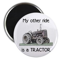 """Ride a Tractor 2.25"""" Magnet (100 pack)"""
