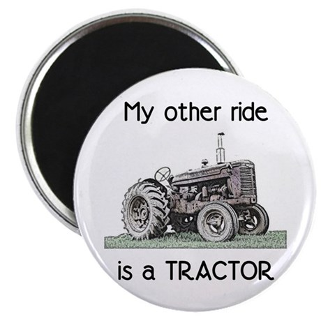 Ride a Tractor Magnet