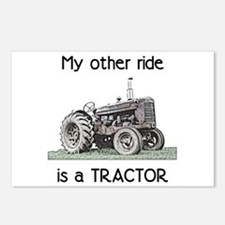 Ride a Tractor Postcards (Package of 8)