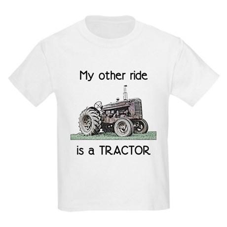 Ride a Tractor Kids T-Shirt
