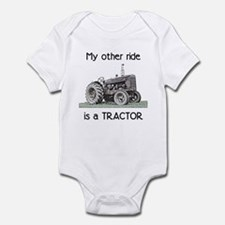 Ride a Tractor Infant Bodysuit