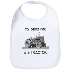 Ride a Tractor Bib