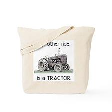 Ride a Tractor Tote Bag