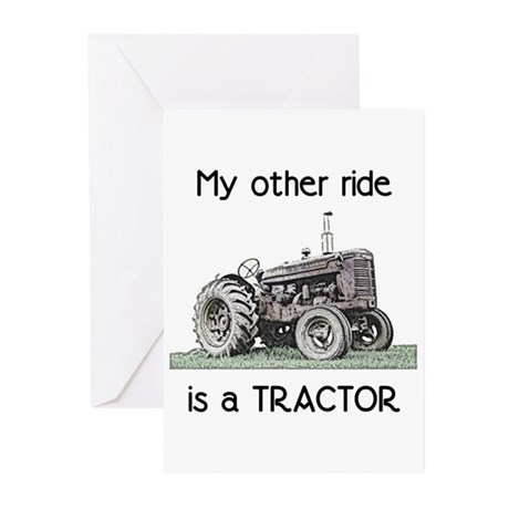 Ride a Tractor Greeting Cards (Pk of 10)