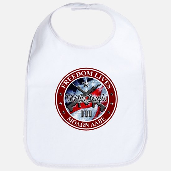 Three Percent - We The People (Flag) Bib