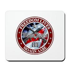 Three Percent - We The People (Flag) Mousepad