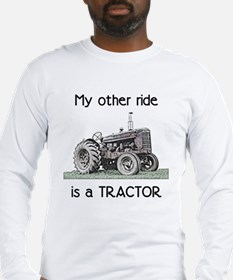 Ride a Tractor Long Sleeve T-Shirt