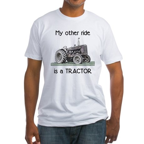 Ride a Tractor Fitted T-Shirt