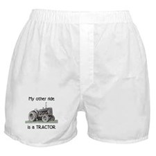 Ride a Tractor Boxer Shorts