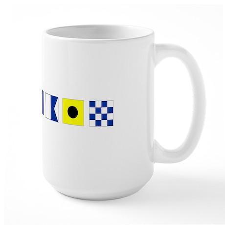 Boating Captain's Large Mug