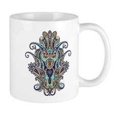 Ornate Paisley Mug