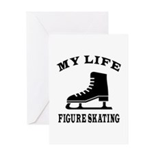 My Life Figure Skating Greeting Card